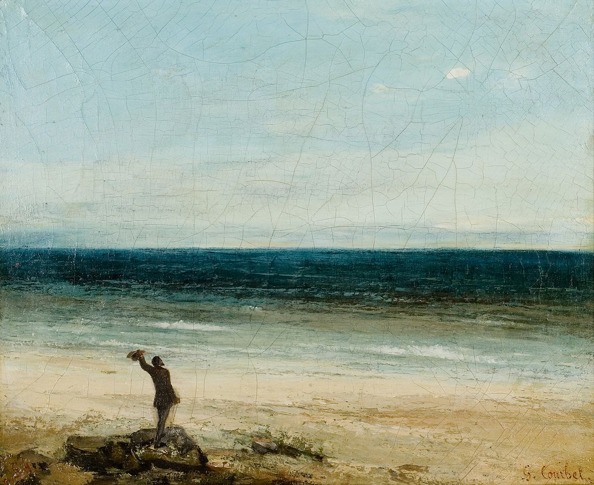 Stone Courbet Gustave Breakers