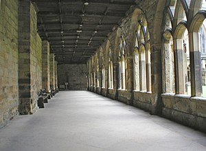Durham Cathedral cloisters used to film the Ha...