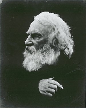 Henry Wadsworth Longfellow on the Isle of Wigh...