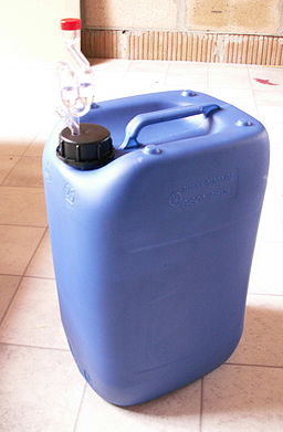 Jerrycan type cheap fermentationVessel