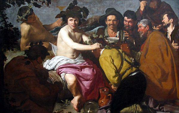 El triunfo de Baco, Velázquez. 1629