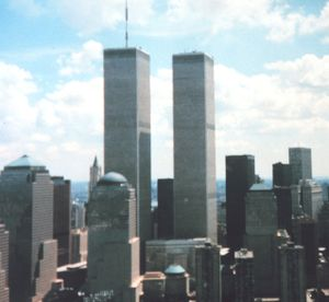 The World Trade Center, one of three sites on ...