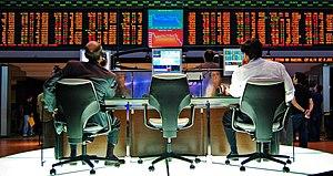 The São Paulo Stock Exchange (Bovespa).
