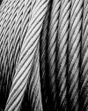 English: Steel wire rope of the the German col...
