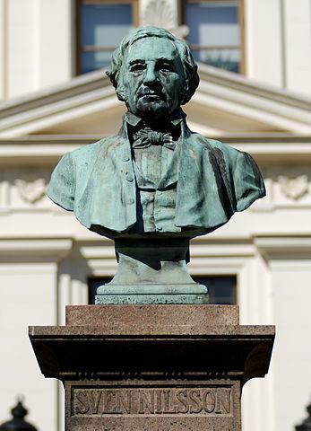 Busto de Sven Nilsson en Lund (Suecia)