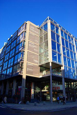 Verdens Gang's headquarter in Akersgata, Oslo,...