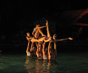 Water Ballet in Guardalavaca, Cuba