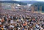 Bühne des Woodstock-Festivals