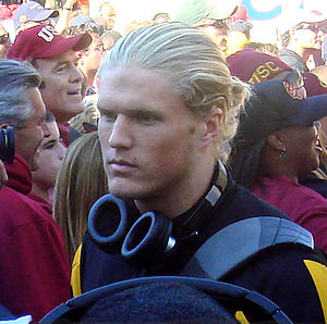 Linebacker/defensive end Clay Matthews III, wa...