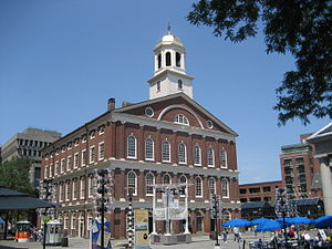 Boston Massachusetts: Faneuil Hall