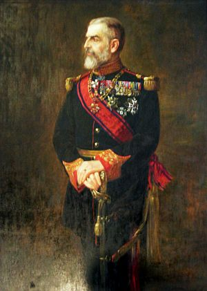 portrait of King Carol I of Romania by Mihail ...