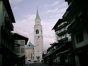 Italiano: Veduta di Cortina D'Ampezzo.