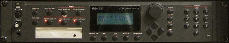 E-mu ESi-32 sampler. cc-by-sa via nourogg