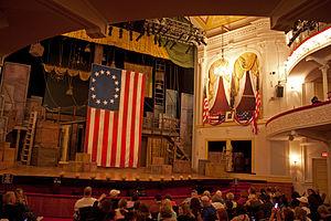 English: Interior of Ford's Theatre, Washingto...
