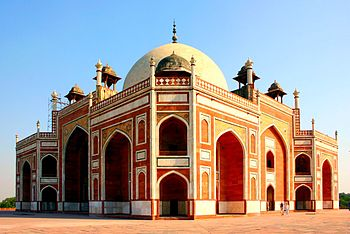 "The ""red Taj Mahal"" in Delhi. This i..."