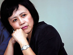 English: Profile image of Hu Shuli