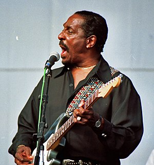 Ike Turner at the Long Beach Blues Festival