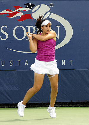 Marion Bartoli at the 2009 US Open