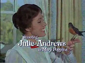 Screenshot of Julie Andrews from the trailer f...
