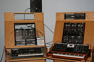 Moog sound room : moogmusic.com photos by hyre...