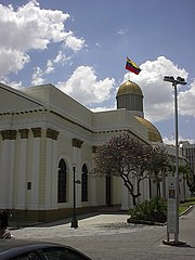 Palacio Federal Legislativo, sede de la Asamblea Nacional.