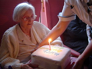 Mum's 78th on 4th December 2005. She will be 7...