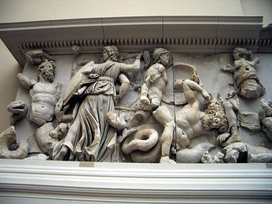 Pergamonmuseum - Antikensammlung - Pergamonaltar - Pergamon Altar