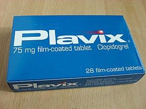 A box of Plavix