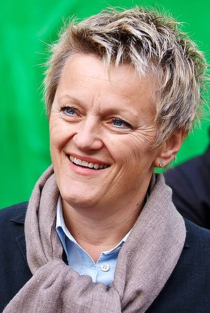 Renate Künast in Kiel, Schleswig-Holstein, in 2009