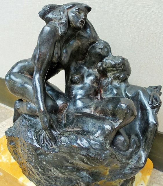 Rodin Museum - Joy of Museums - The Sirens