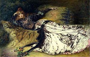English: Sarah Bernhardt (1844-1923)