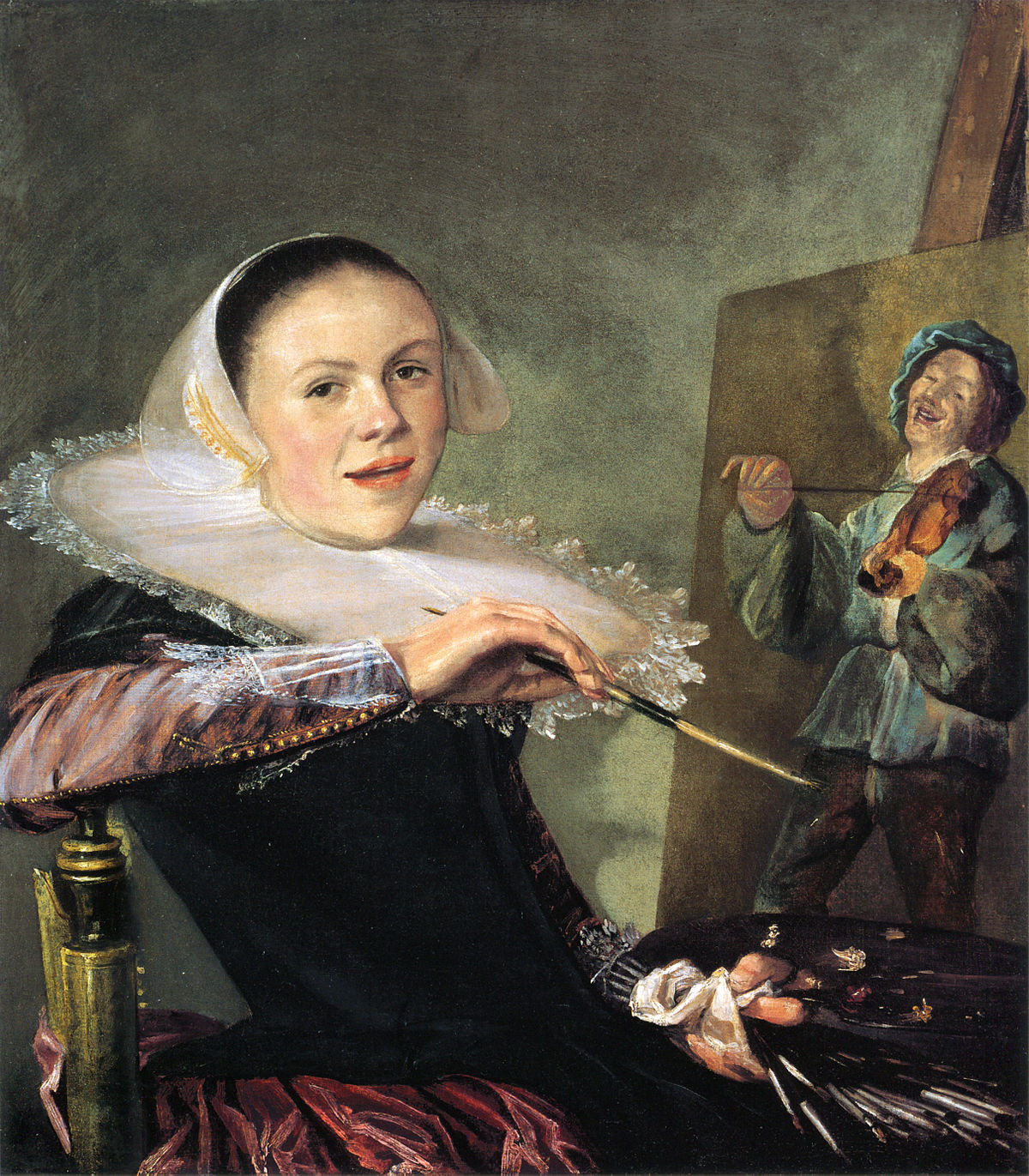 femme peintre wikipedia