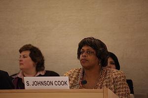 Suzan Johnson Cook at the Human Rights Council...