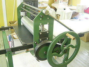 The intaglio (printing) press