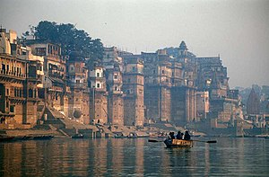 Ganges River, Varanasi, Uttar Pradesh, India.