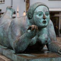 Fernando Botero's Chubby Sculptures