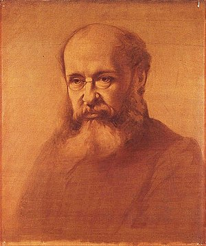 Anthony Trollope, by Samuel Laurence (died 188...