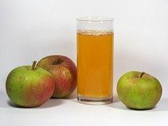 English: apple, Apple Juice Deutsch: Schöne au...
