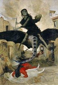 Arnold Böcklin - Die Pest