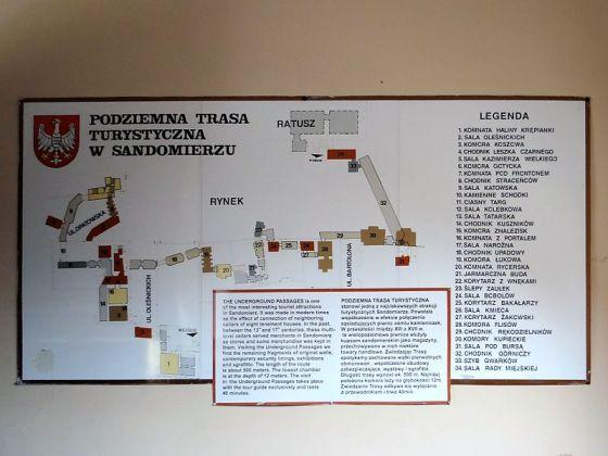 Plan Podziemnej Trasy Turystycznej