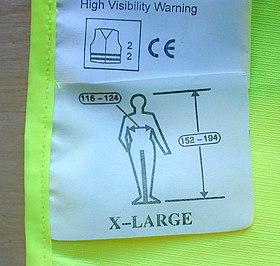 Resultado de imagen de pictogramas tallaje ropa