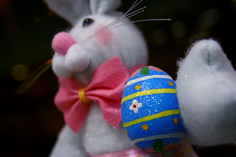 This Easter bunny is decorating the main post office in Grand Rapids, MI, by Steven Depolo from Grand Rapids, MI, USA