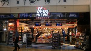 Fox News stand in Hennepin County, Minnesota