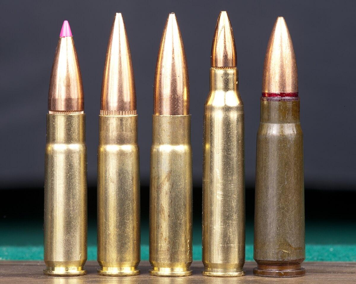 762 Nato 56 5 Vs Rounds