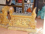 Gamelan Bali, salah satu jenis perkusi.