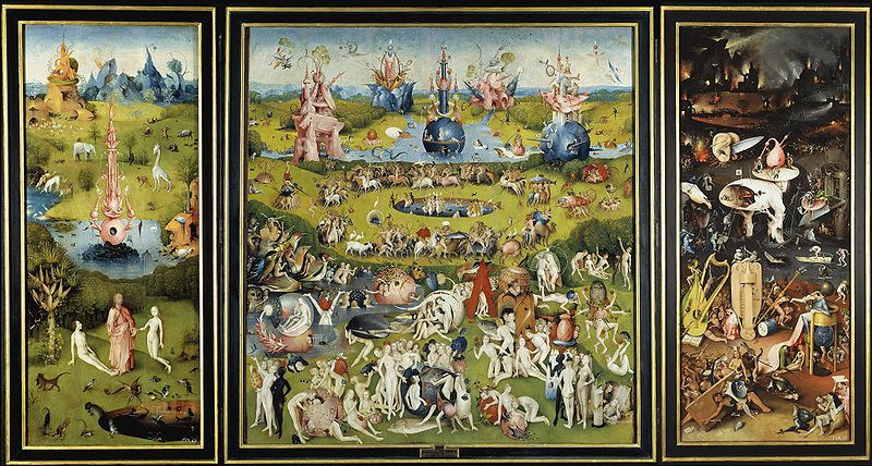 The Garden of Earthly Delights, Bosch