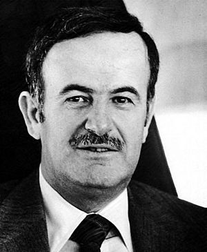 Hafez al-Assad. Taken sometime before April 1987.