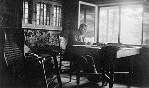 W.L. Mackenzie King writing the book Industry ...