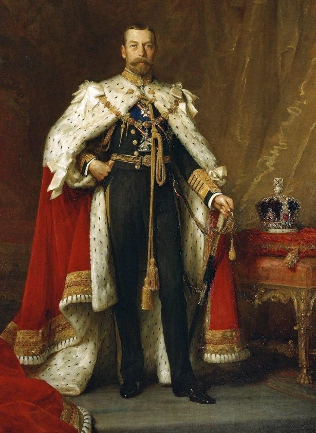 لوحة تتويج الملك جورج 1911