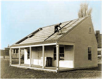 MIT's Solar House #1 built in 1939 utilized seasonal thermal storage for year round heating.